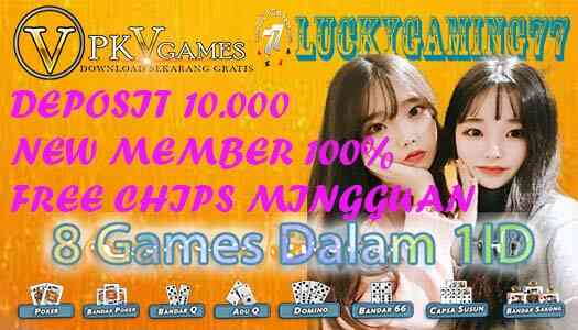 Daftar Domino Situs Pkv Lucky77Shop DominoQQ online